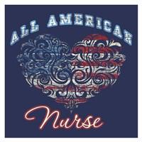 All American Nurse Fine-Art Print