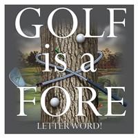Fore Letter Word Fine-Art Print