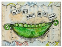 Let's Be Peas Fine-Art Print
