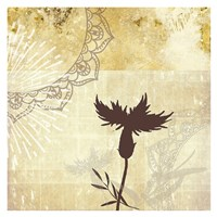 Golden Henna Breeze 2 Fine-Art Print