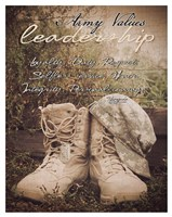 Army Values Fine-Art Print