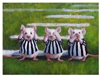 Three Blind Mice Fine-Art Print