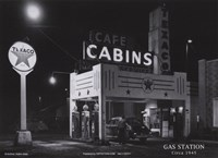 Gas Station, c.1945 Fine-Art Print
