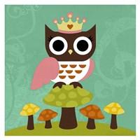 Princess Owl Fine-Art Print