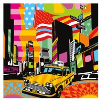 New York Taxi II Fine-Art Print