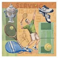 Let's Play Tennis Fine-Art Print