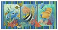 Tropical Fish Strip Fine-Art Print