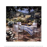 Tuscany Terrace Fine-Art Print