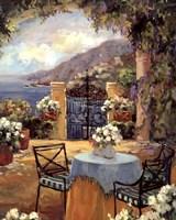 Seaside Terrace Fine-Art Print
