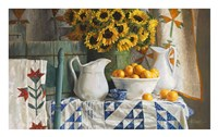 Calico with Sunflowers Fine-Art Print
