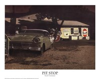 Pit Stop Fine-Art Print