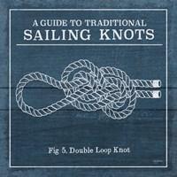 Vintage Sailing Knots V Fine-Art Print