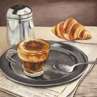 Espresso & News Fine-Art Print