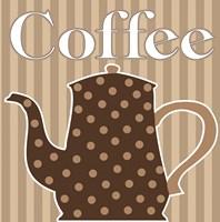 Cafe Au Lait Cocoa Latte V Fine-Art Print