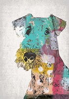 Abstract Dog Fine-Art Print