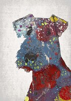 Abstract Dog II Fine-Art Print