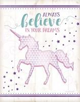 Believe Unicorn Fine-Art Print