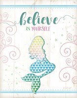 Believe Mermaid Fine-Art Print