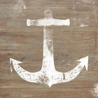 White Anchor on Natural Fine-Art Print