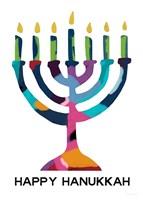 Hanukkah Menorah Fine-Art Print