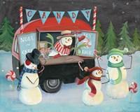 Christmas on Wheels I Light Fine-Art Print