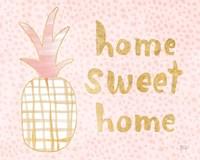 Pineapple Blush I Fine-Art Print