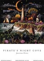 Pirates Night Cove Fine-Art Print