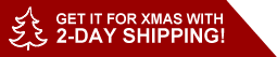 Get it for Christmas with Two Day shipping!