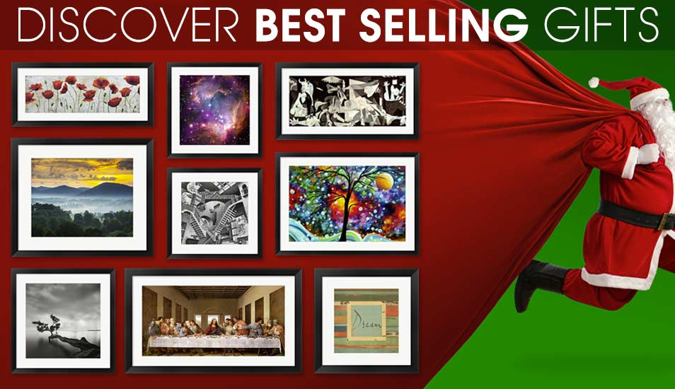 Wall art home decor framed art for Best way to sell art prints