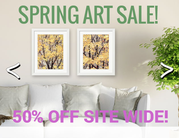 50% Off Everything Spring Sale