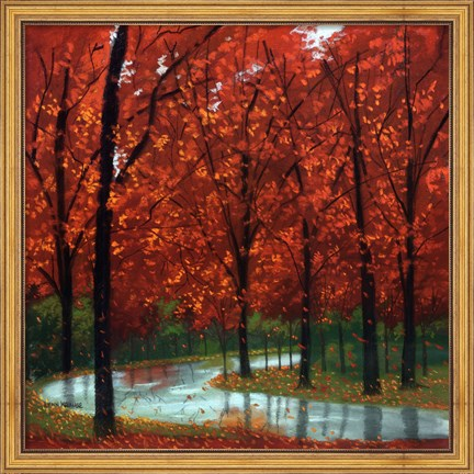 Autumn Stream Art