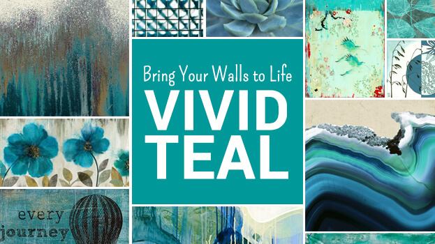 Teal Art Prints