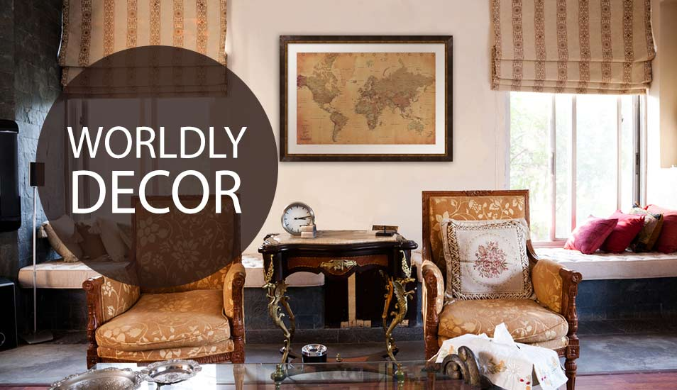 Worldly Decor Art Prints