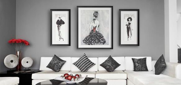 High Fashion Artwork