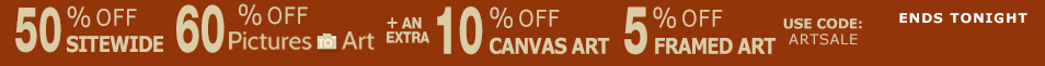 Save on Framed Art and Canvas Prints