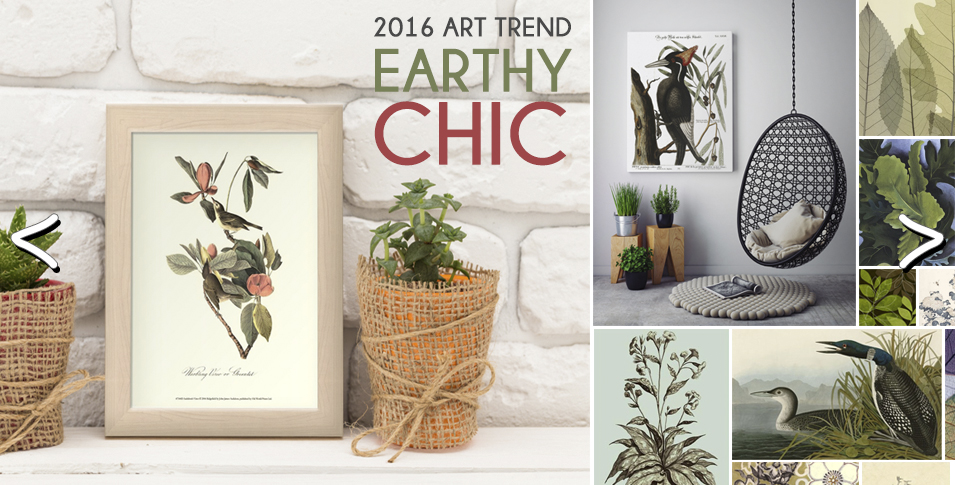 Earthy Chic Art