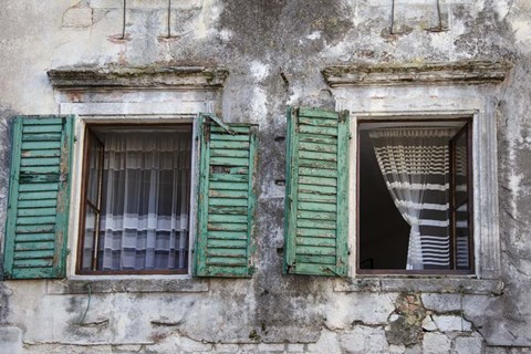 Framed Catching the Breeze - Kotor, Montenegro Print