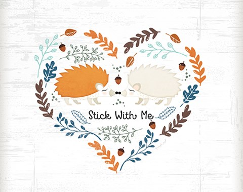 Framed Stick With Me Print