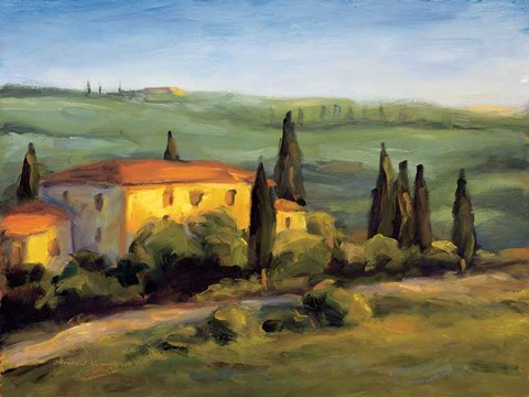 Framed Tuscan Morning Print