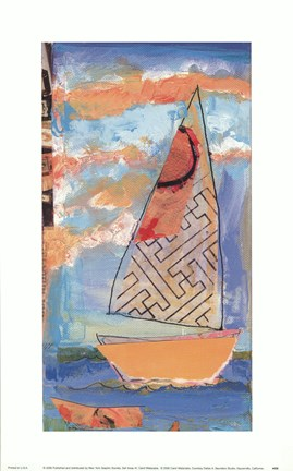 Framed Sail Away IV Print