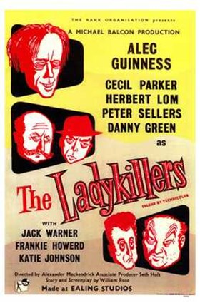 Framed Ladykillers Print