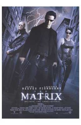 Framed Matrix - Reeves Print