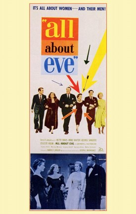 Framed All About Eve Color George Sanders Print