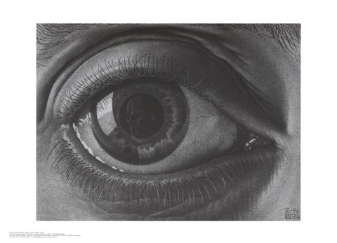 Framed Eye, c.1946 Print