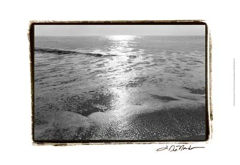 Framed Ocean Sunrise IV Print