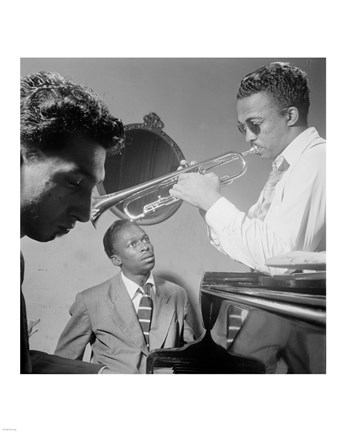 Framed Miles Davis, Howard McGhee, September 1947 Print