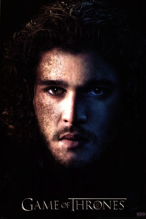 Framed Game of Thrones - S3 - Jon Print