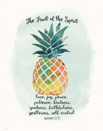 Framed Fruit Spirit Print