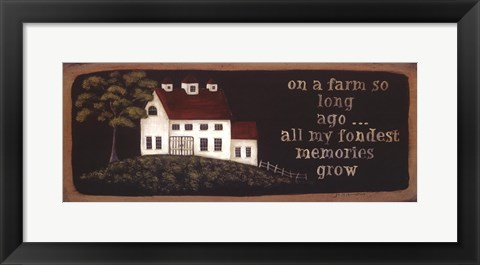 Framed On a Farm Print