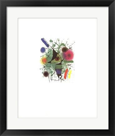 Framed Singing Fish Print